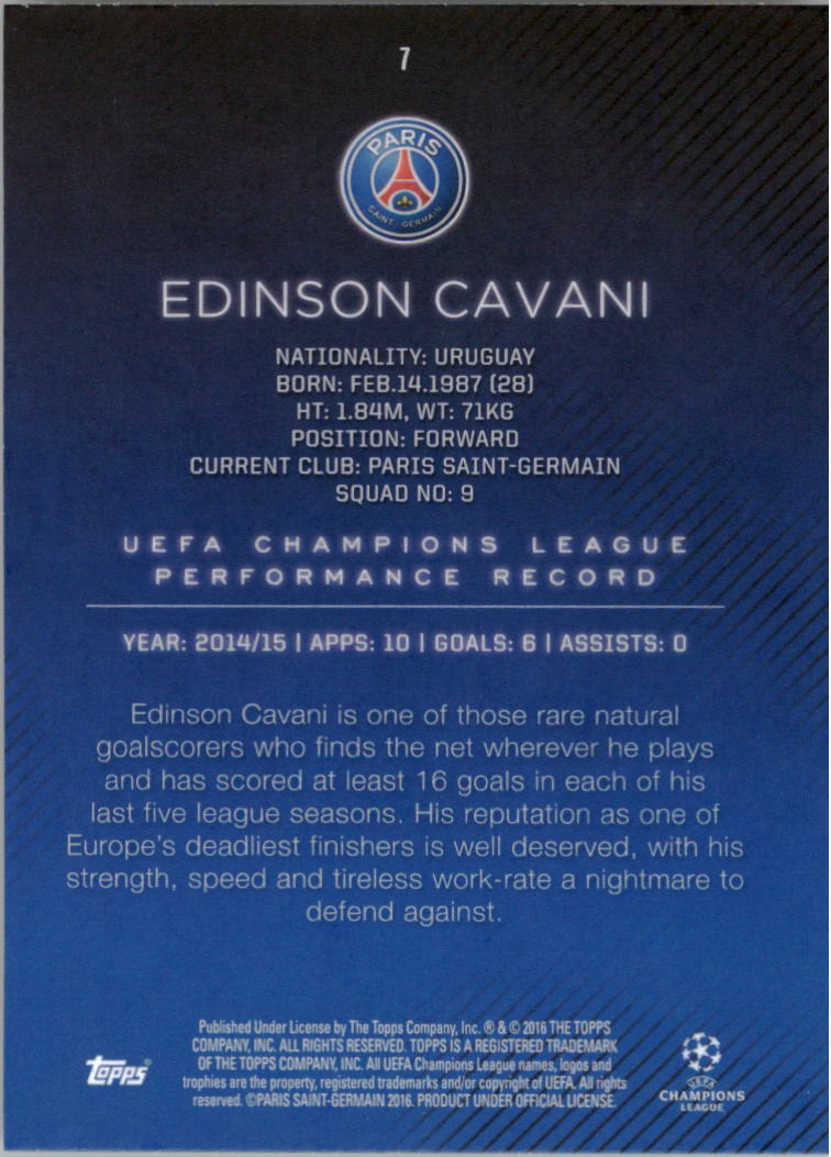 2015-16-Topps-UEFA-Champions-League-Showcase-Soccer-Your-Choice-GOTBASEBALLCARDS thumbnail 13