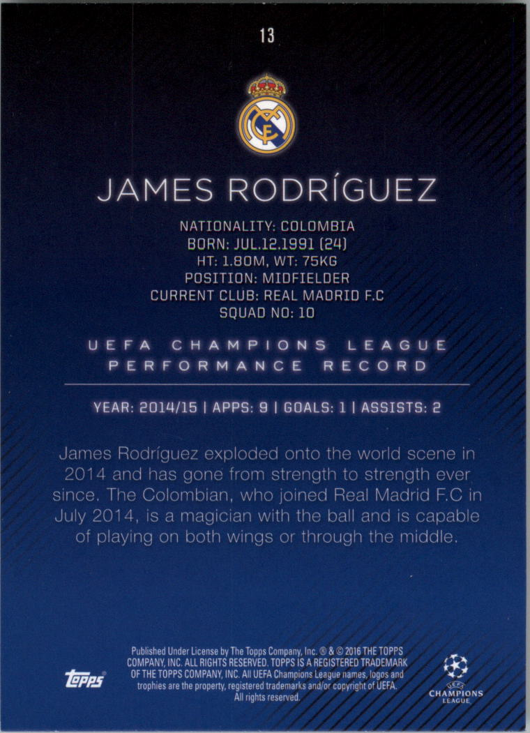 2015-16-Topps-UEFA-Champions-League-Showcase-Soccer-Your-Choice-GOTBASEBALLCARDS thumbnail 25