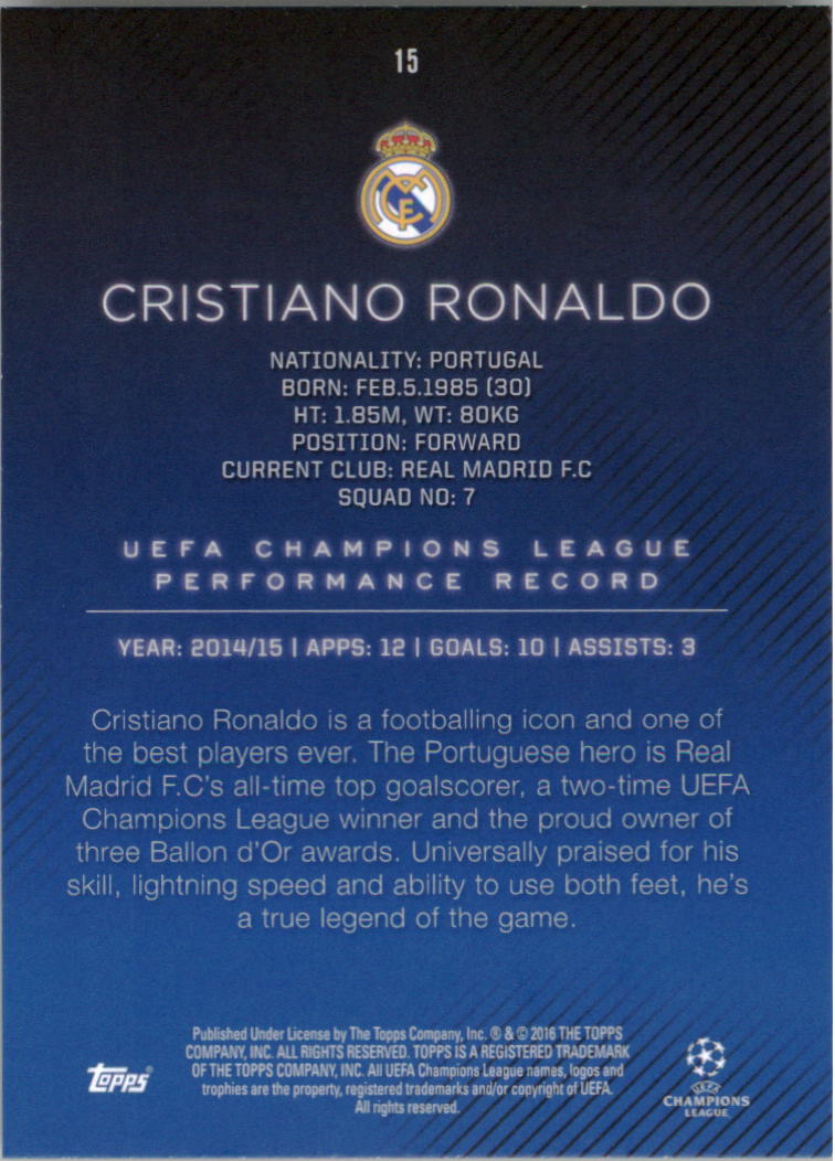 2015-16-Topps-UEFA-Champions-League-Showcase-Soccer-Your-Choice-GOTBASEBALLCARDS thumbnail 29