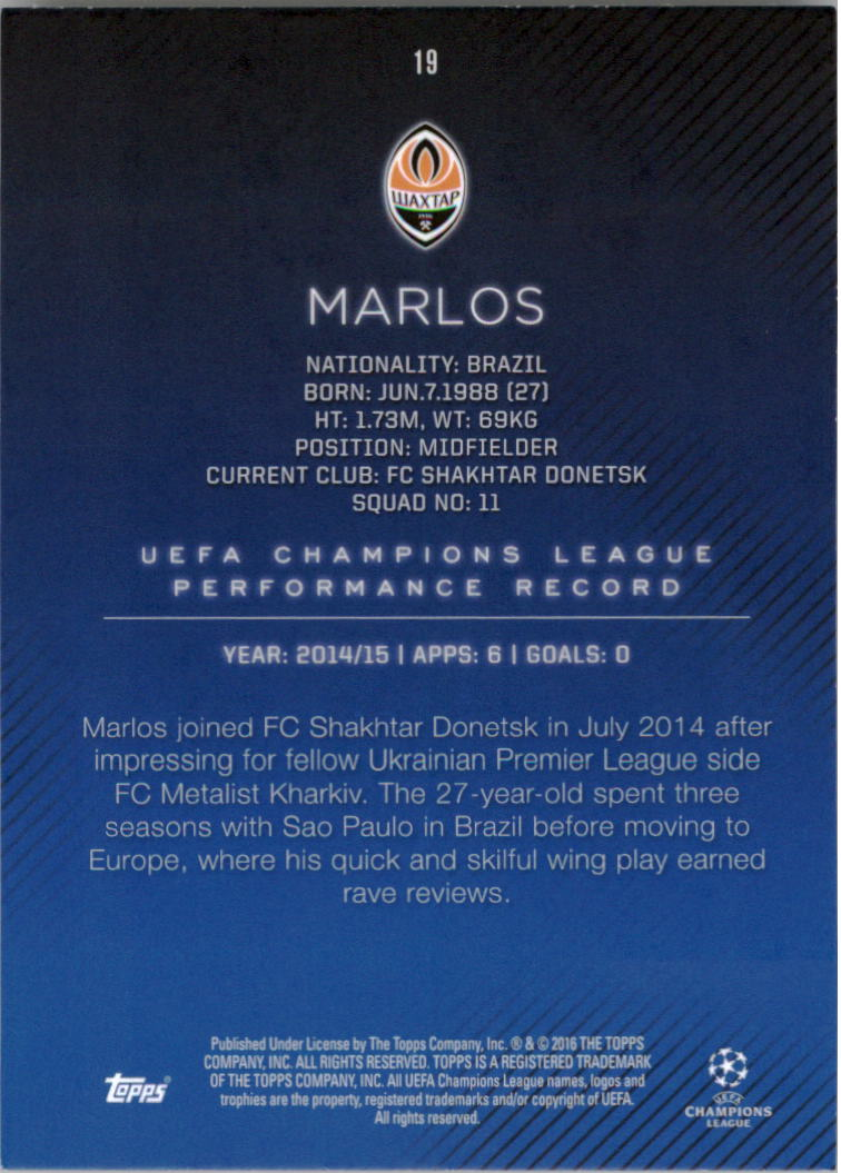 2015-16-Topps-UEFA-Champions-League-Showcase-Soccer-Your-Choice-GOTBASEBALLCARDS thumbnail 37