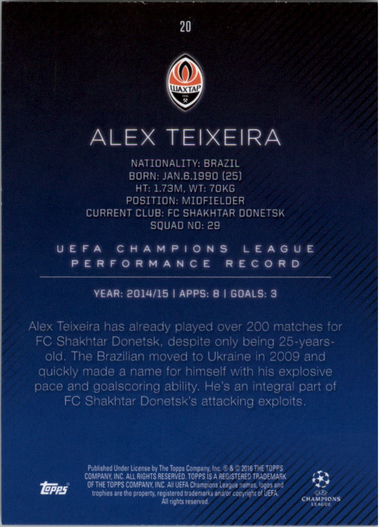 2015-16-Topps-UEFA-Champions-League-Showcase-Soccer-Your-Choice-GOTBASEBALLCARDS thumbnail 39