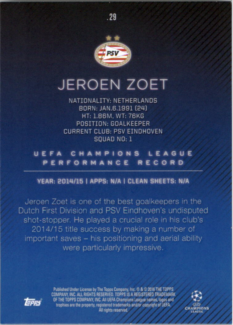 2015-16-Topps-UEFA-Champions-League-Showcase-Soccer-Your-Choice-GOTBASEBALLCARDS thumbnail 57