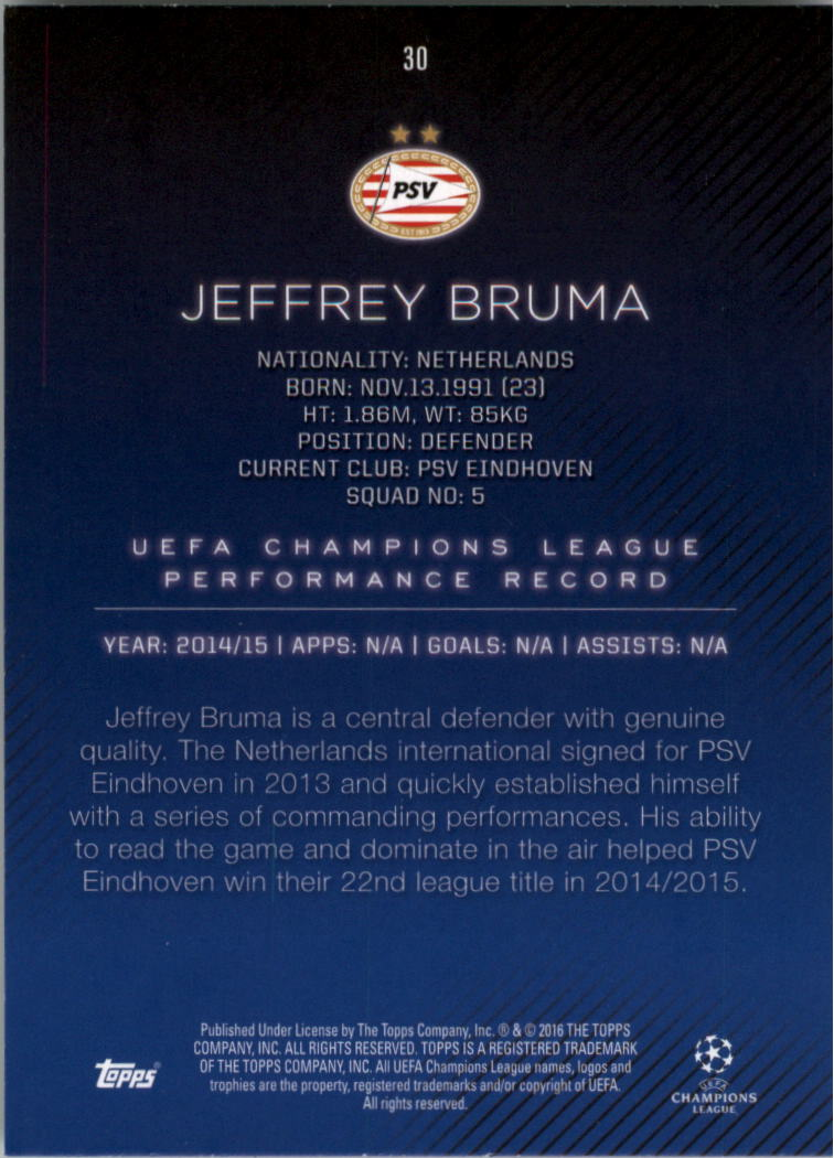 2015-16-Topps-UEFA-Champions-League-Showcase-Soccer-Your-Choice-GOTBASEBALLCARDS thumbnail 59