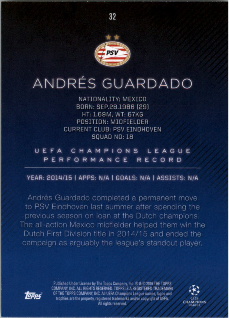 2015-16-Topps-UEFA-Champions-League-Showcase-Soccer-Your-Choice-GOTBASEBALLCARDS thumbnail 63