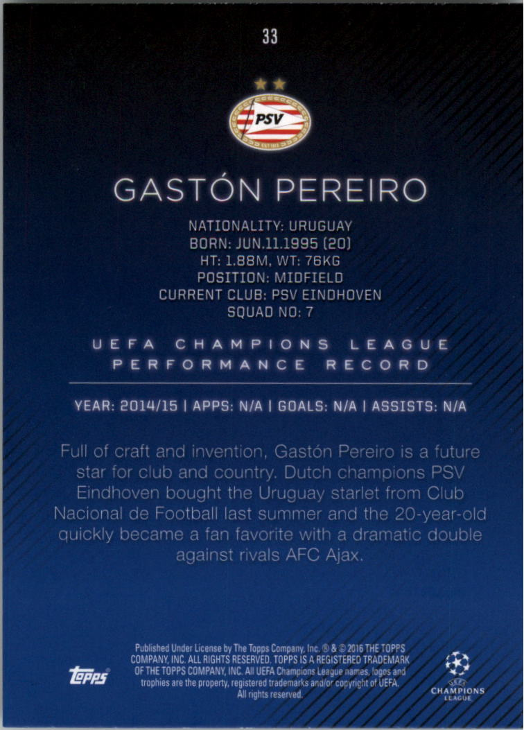 2015-16-Topps-UEFA-Champions-League-Showcase-Soccer-Your-Choice-GOTBASEBALLCARDS thumbnail 65