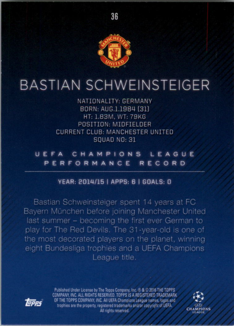 2015-16-Topps-UEFA-Champions-League-Showcase-Soccer-Your-Choice-GOTBASEBALLCARDS thumbnail 71