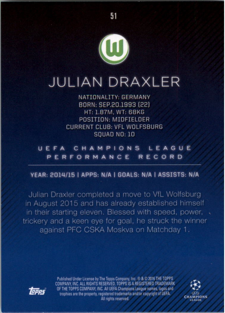 2015-16-Topps-UEFA-Champions-League-Showcase-Soccer-Your-Choice-GOTBASEBALLCARDS thumbnail 101