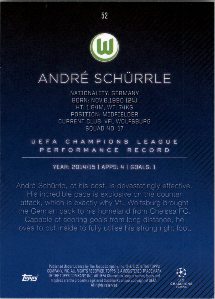 2015-16-Topps-UEFA-Champions-League-Showcase-Soccer-Your-Choice-GOTBASEBALLCARDS thumbnail 103