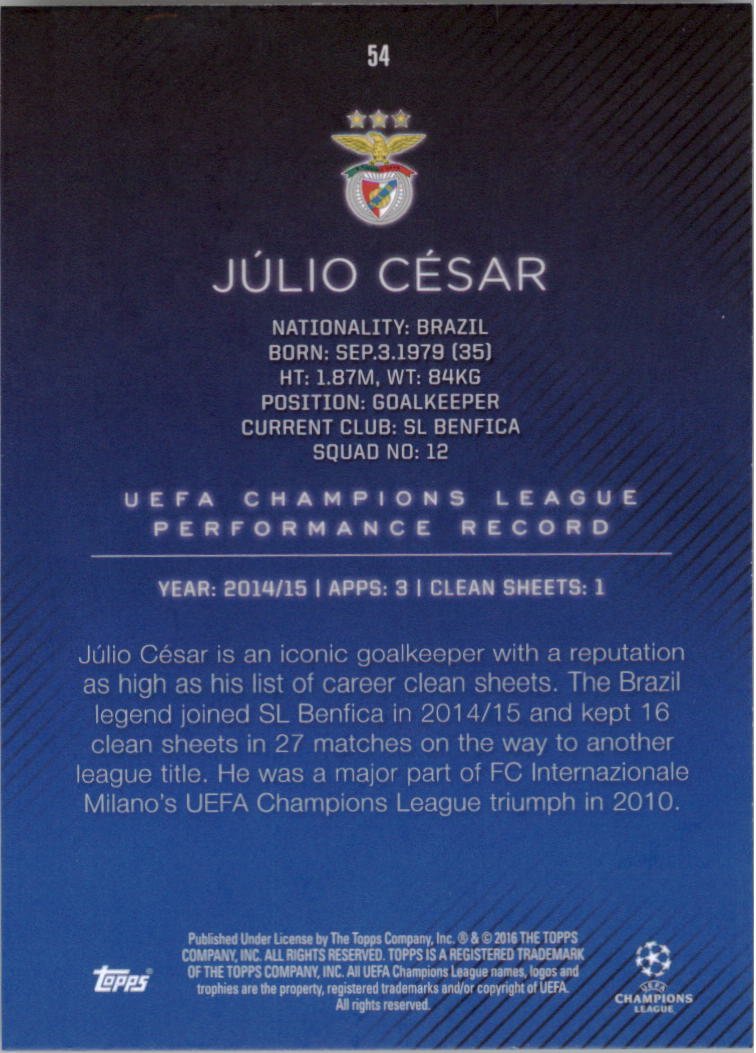 2015-16-Topps-UEFA-Champions-League-Showcase-Soccer-Your-Choice-GOTBASEBALLCARDS thumbnail 107
