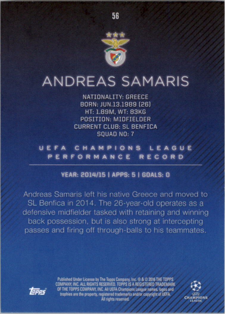 2015-16-Topps-UEFA-Champions-League-Showcase-Soccer-Your-Choice-GOTBASEBALLCARDS thumbnail 111