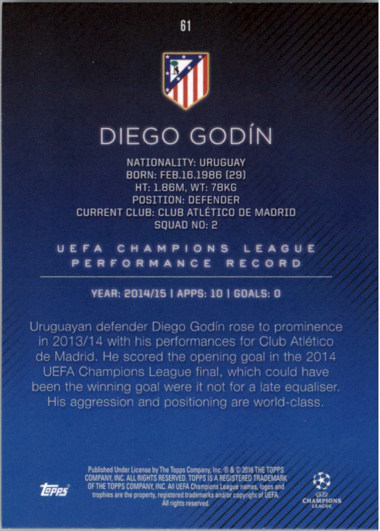 2015-16-Topps-UEFA-Champions-League-Showcase-Soccer-Your-Choice-GOTBASEBALLCARDS thumbnail 121