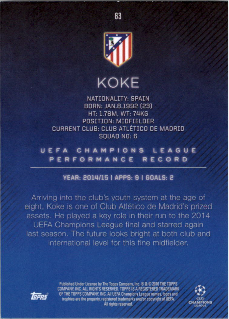 2015-16-Topps-UEFA-Champions-League-Showcase-Soccer-Your-Choice-GOTBASEBALLCARDS thumbnail 125