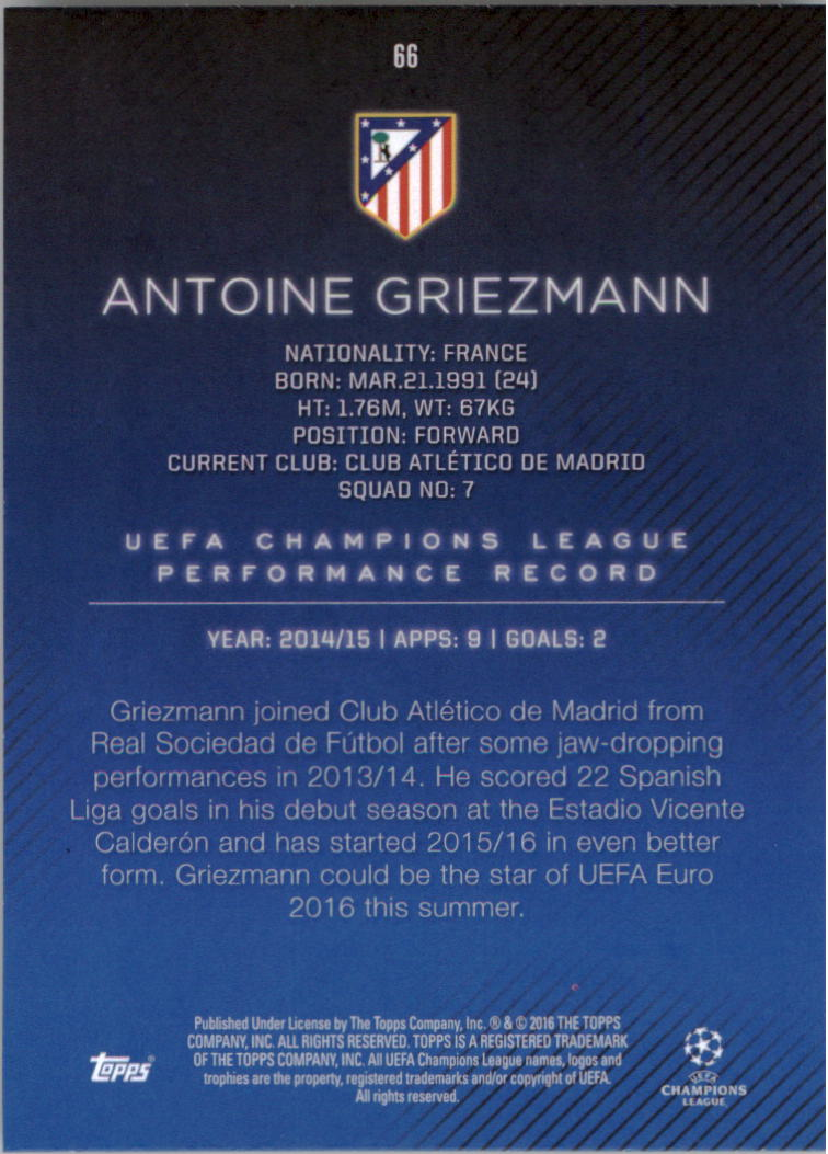 2015-16-Topps-UEFA-Champions-League-Showcase-Soccer-Your-Choice-GOTBASEBALLCARDS thumbnail 131