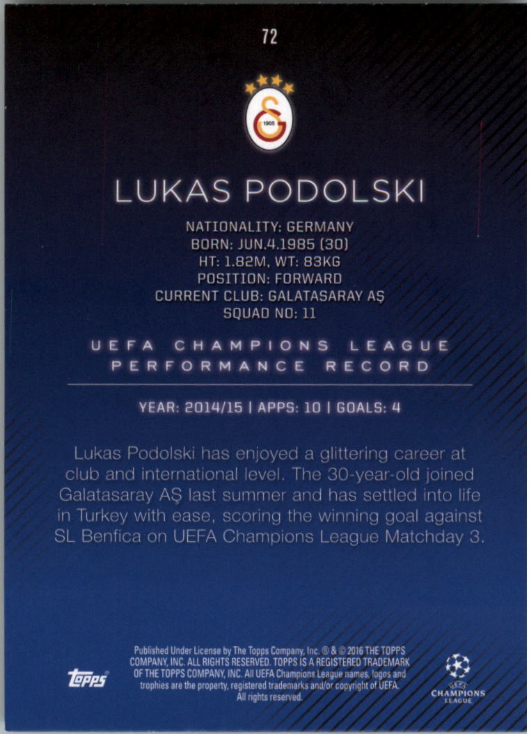 2015-16-Topps-UEFA-Champions-League-Showcase-Soccer-Your-Choice-GOTBASEBALLCARDS thumbnail 143