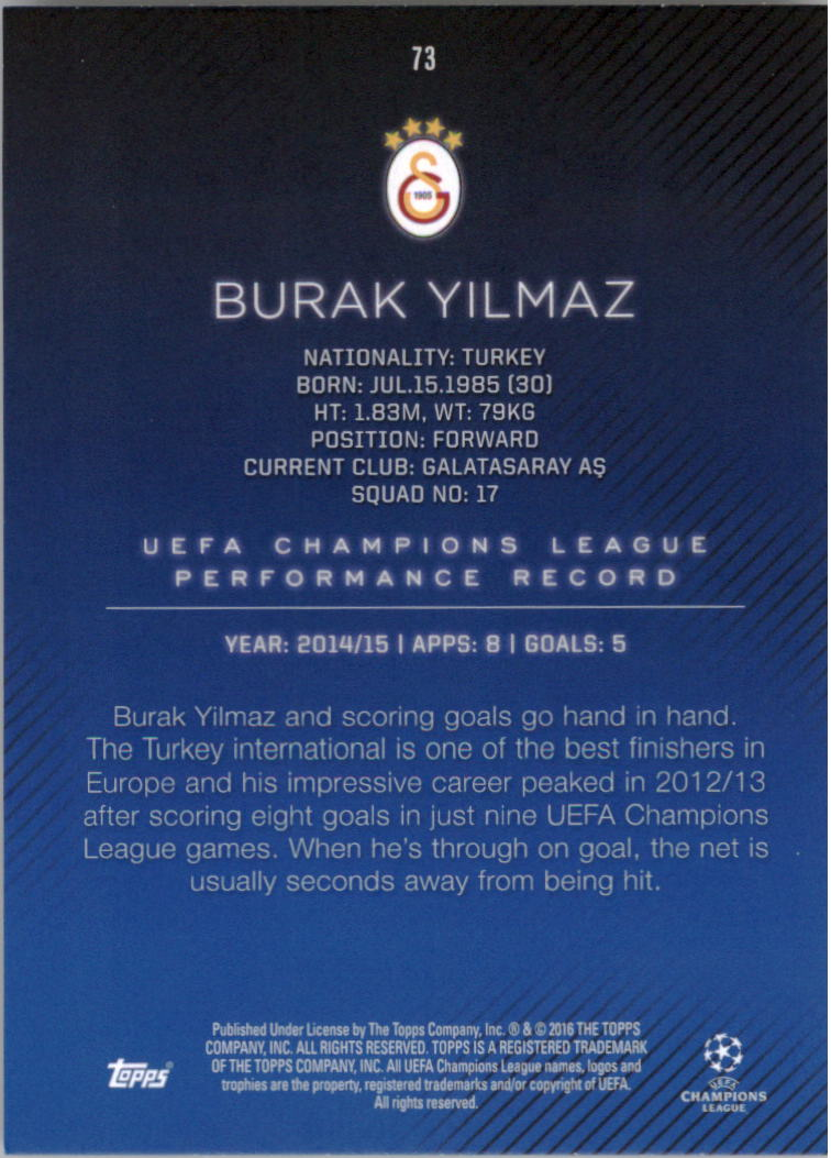 2015-16-Topps-UEFA-Champions-League-Showcase-Soccer-Your-Choice-GOTBASEBALLCARDS thumbnail 145