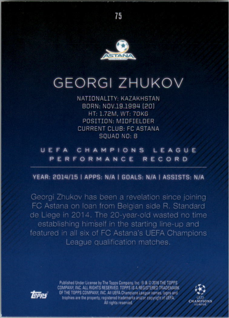 2015-16-Topps-UEFA-Champions-League-Showcase-Soccer-Your-Choice-GOTBASEBALLCARDS thumbnail 149