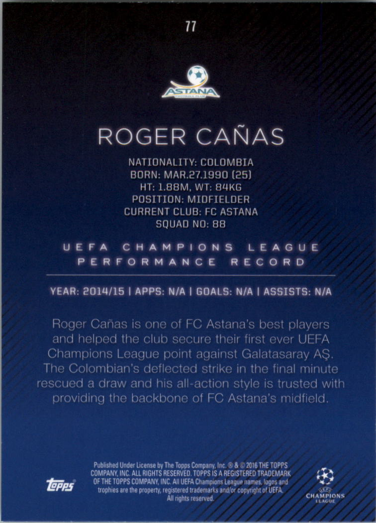 2015-16-Topps-UEFA-Champions-League-Showcase-Soccer-Your-Choice-GOTBASEBALLCARDS thumbnail 153