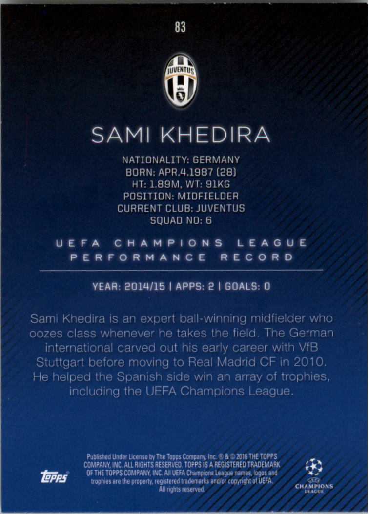 2015-16-Topps-UEFA-Champions-League-Showcase-Soccer-Your-Choice-GOTBASEBALLCARDS thumbnail 165