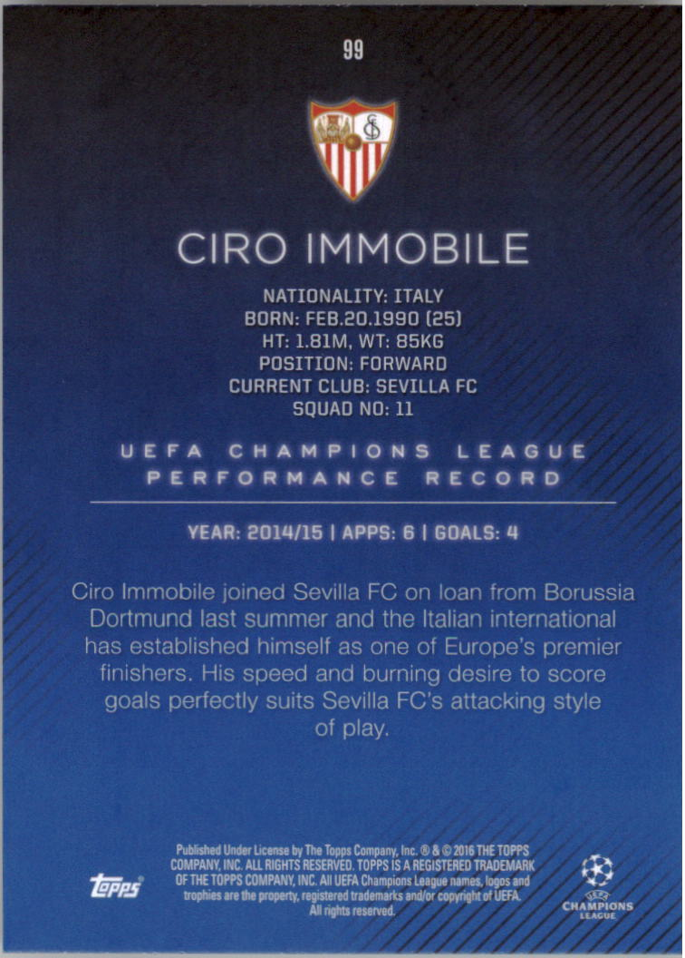 2015-16-Topps-UEFA-Champions-League-Showcase-Soccer-Your-Choice-GOTBASEBALLCARDS thumbnail 197