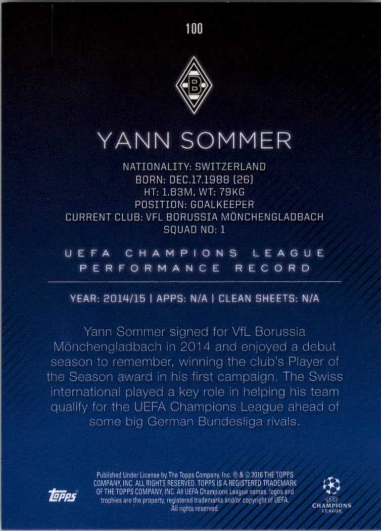 2015-16-Topps-UEFA-Champions-League-Showcase-Soccer-Your-Choice-GOTBASEBALLCARDS thumbnail 199