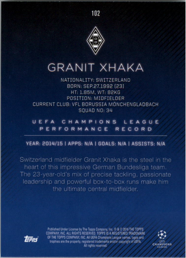 2015-16-Topps-UEFA-Champions-League-Showcase-Soccer-Your-Choice-GOTBASEBALLCARDS thumbnail 203