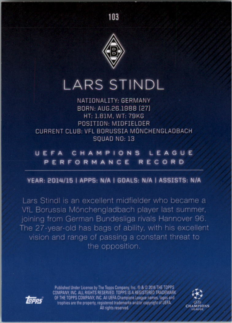 2015-16-Topps-UEFA-Champions-League-Showcase-Soccer-Your-Choice-GOTBASEBALLCARDS thumbnail 205