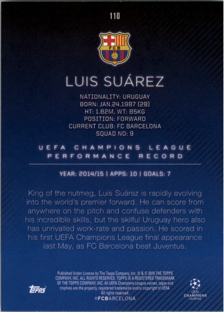 2015-16-Topps-UEFA-Champions-League-Showcase-Soccer-Your-Choice-GOTBASEBALLCARDS thumbnail 217