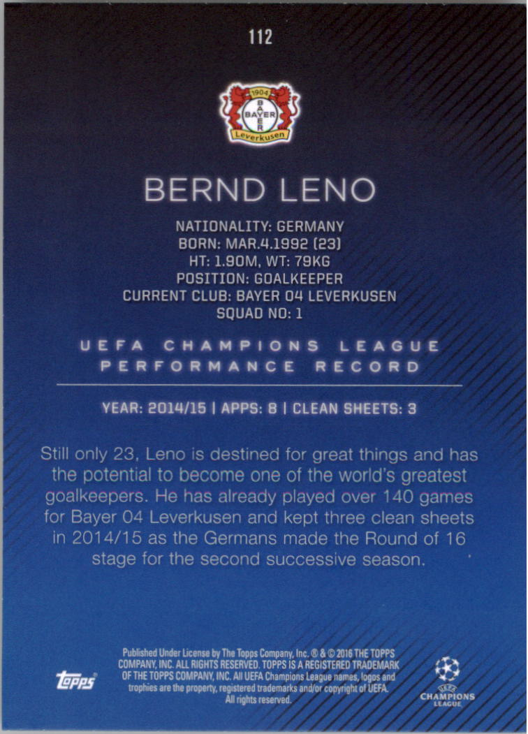 2015-16-Topps-UEFA-Champions-League-Showcase-Soccer-Your-Choice-GOTBASEBALLCARDS thumbnail 221