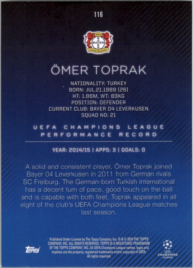 2015-16-Topps-UEFA-Champions-League-Showcase-Soccer-Your-Choice-GOTBASEBALLCARDS thumbnail 229