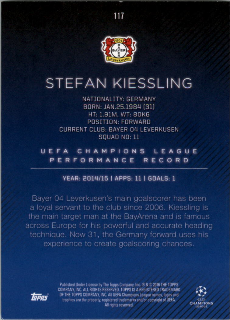 2015-16-Topps-UEFA-Champions-League-Showcase-Soccer-Your-Choice-GOTBASEBALLCARDS thumbnail 231