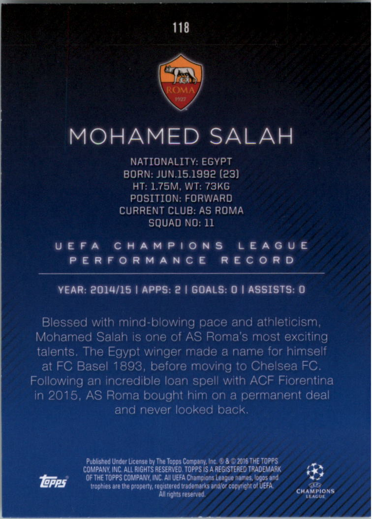 2015-16-Topps-UEFA-Champions-League-Showcase-Soccer-Your-Choice-GOTBASEBALLCARDS thumbnail 233