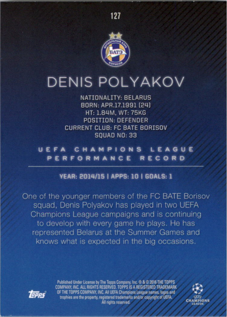 2015-16-Topps-UEFA-Champions-League-Showcase-Soccer-Your-Choice-GOTBASEBALLCARDS thumbnail 251