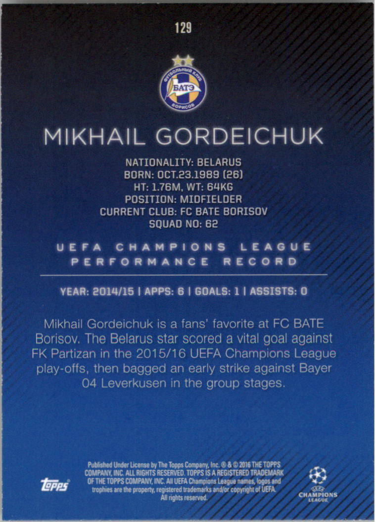 2015-16-Topps-UEFA-Champions-League-Showcase-Soccer-Your-Choice-GOTBASEBALLCARDS thumbnail 255