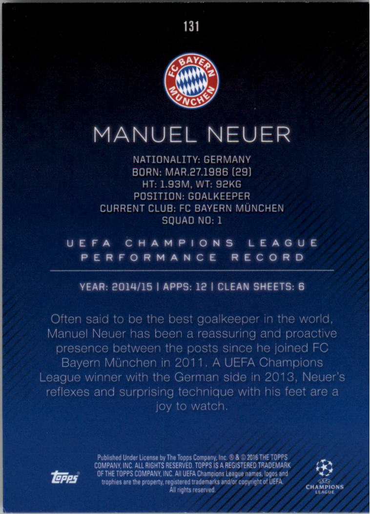 2015-16-Topps-UEFA-Champions-League-Showcase-Soccer-Your-Choice-GOTBASEBALLCARDS thumbnail 259