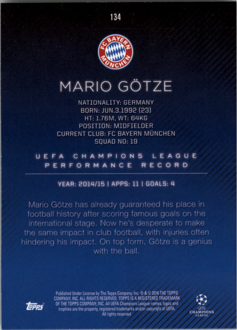 2015-16-Topps-UEFA-Champions-League-Showcase-Soccer-Your-Choice-GOTBASEBALLCARDS thumbnail 265