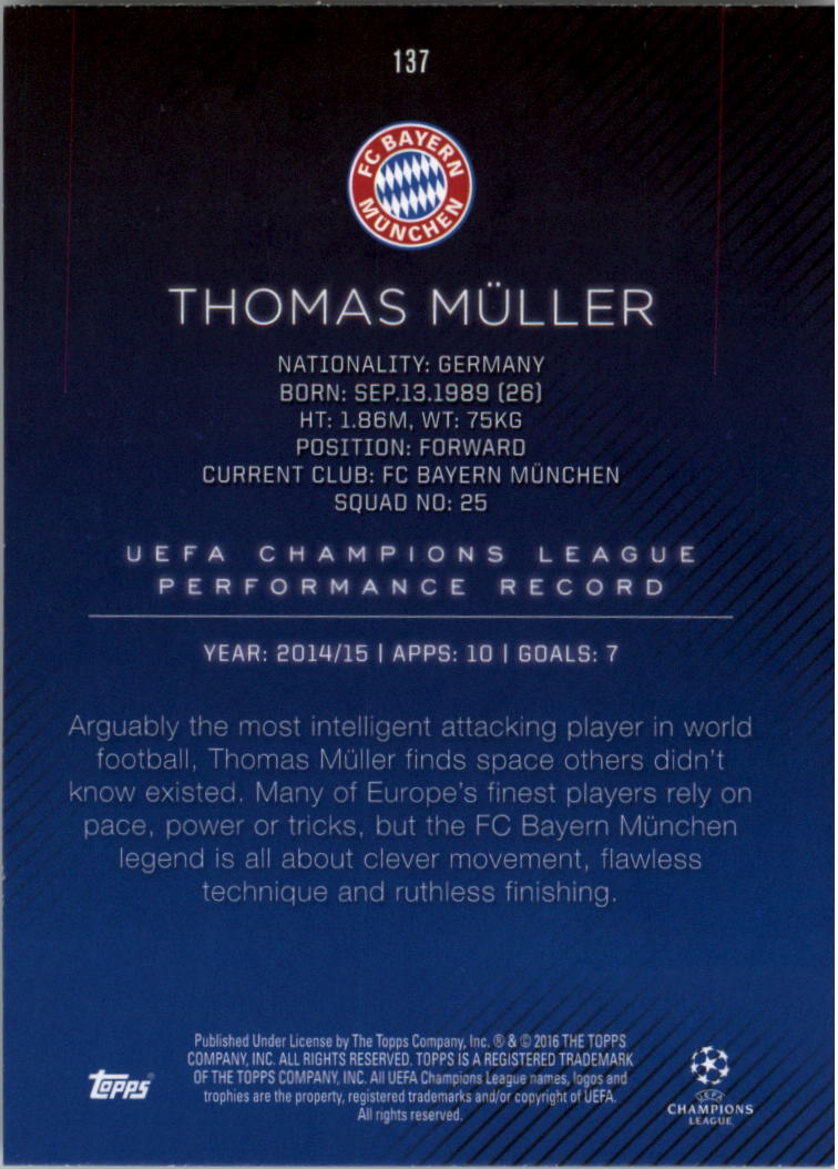 2015-16-Topps-UEFA-Champions-League-Showcase-Soccer-Your-Choice-GOTBASEBALLCARDS thumbnail 271