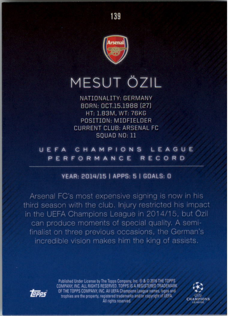 2015-16-Topps-UEFA-Champions-League-Showcase-Soccer-Your-Choice-GOTBASEBALLCARDS thumbnail 275