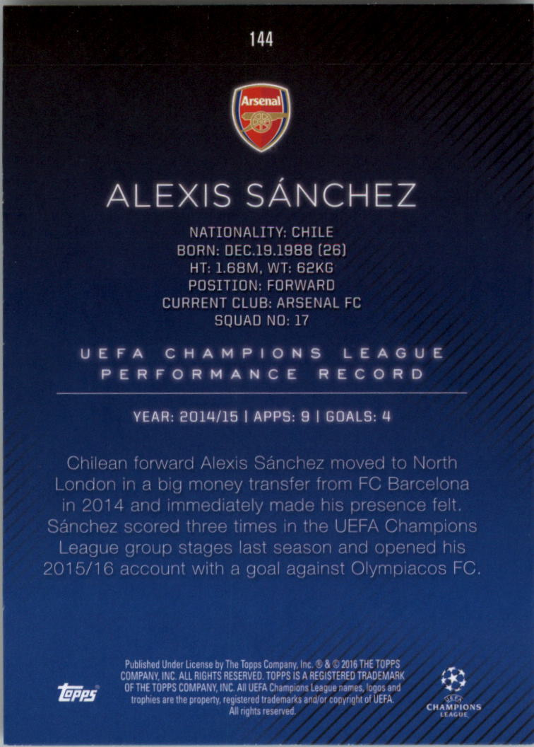 2015-16-Topps-UEFA-Champions-League-Showcase-Soccer-Your-Choice-GOTBASEBALLCARDS thumbnail 285