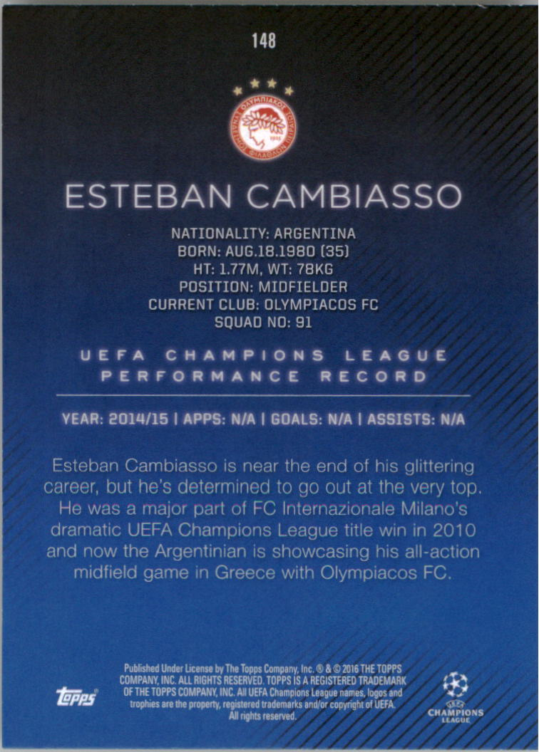 2015-16-Topps-UEFA-Champions-League-Showcase-Soccer-Your-Choice-GOTBASEBALLCARDS thumbnail 293