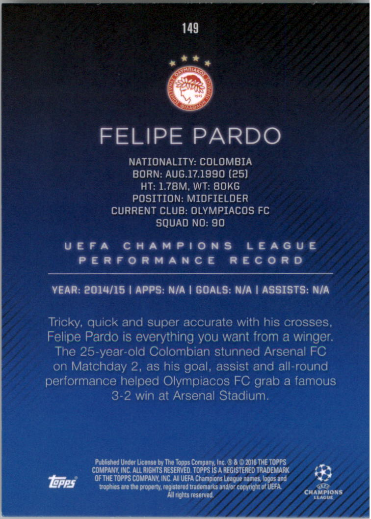 2015-16-Topps-UEFA-Champions-League-Showcase-Soccer-Your-Choice-GOTBASEBALLCARDS thumbnail 295