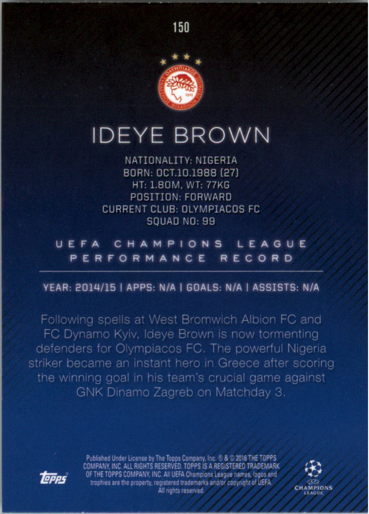 2015-16-Topps-UEFA-Champions-League-Showcase-Soccer-Your-Choice-GOTBASEBALLCARDS thumbnail 297