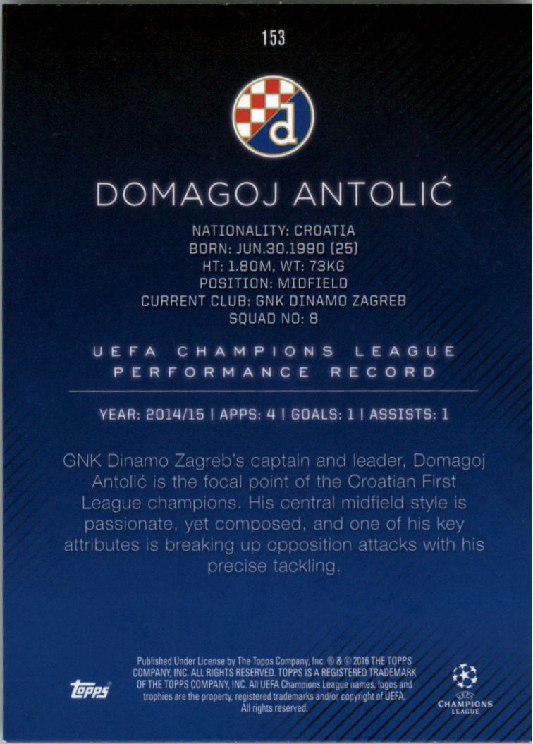2015-16-Topps-UEFA-Champions-League-Showcase-Soccer-Your-Choice-GOTBASEBALLCARDS thumbnail 303