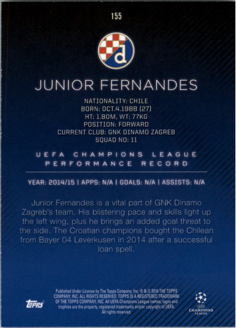 2015-16-Topps-UEFA-Champions-League-Showcase-Soccer-Your-Choice-GOTBASEBALLCARDS thumbnail 307
