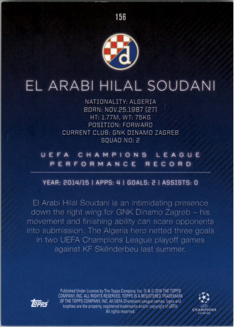 2015-16-Topps-UEFA-Champions-League-Showcase-Soccer-Your-Choice-GOTBASEBALLCARDS thumbnail 309
