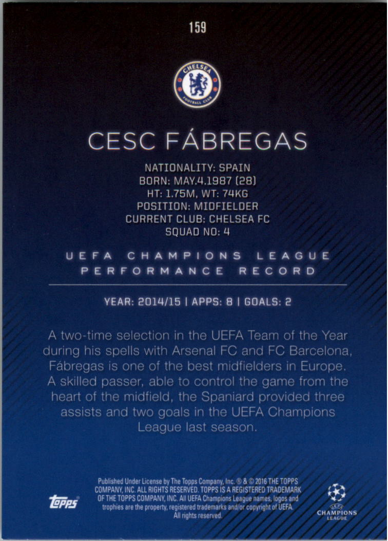 2015-16-Topps-UEFA-Champions-League-Showcase-Soccer-Your-Choice-GOTBASEBALLCARDS thumbnail 315