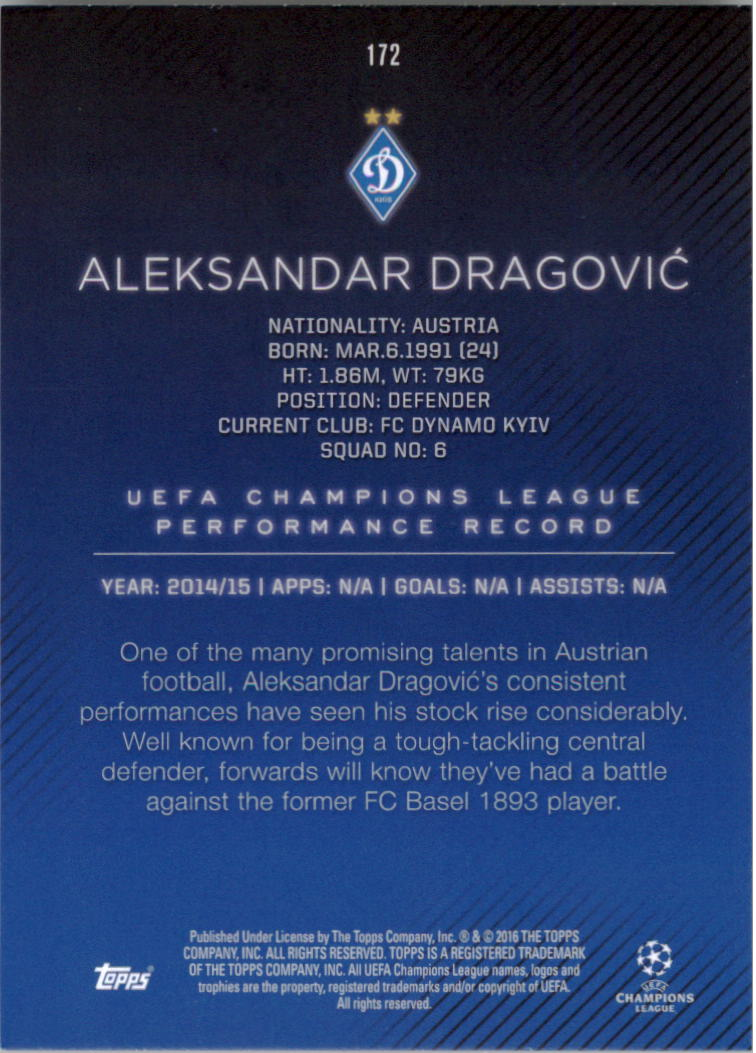 2015-16-Topps-UEFA-Champions-League-Showcase-Soccer-Your-Choice-GOTBASEBALLCARDS thumbnail 341