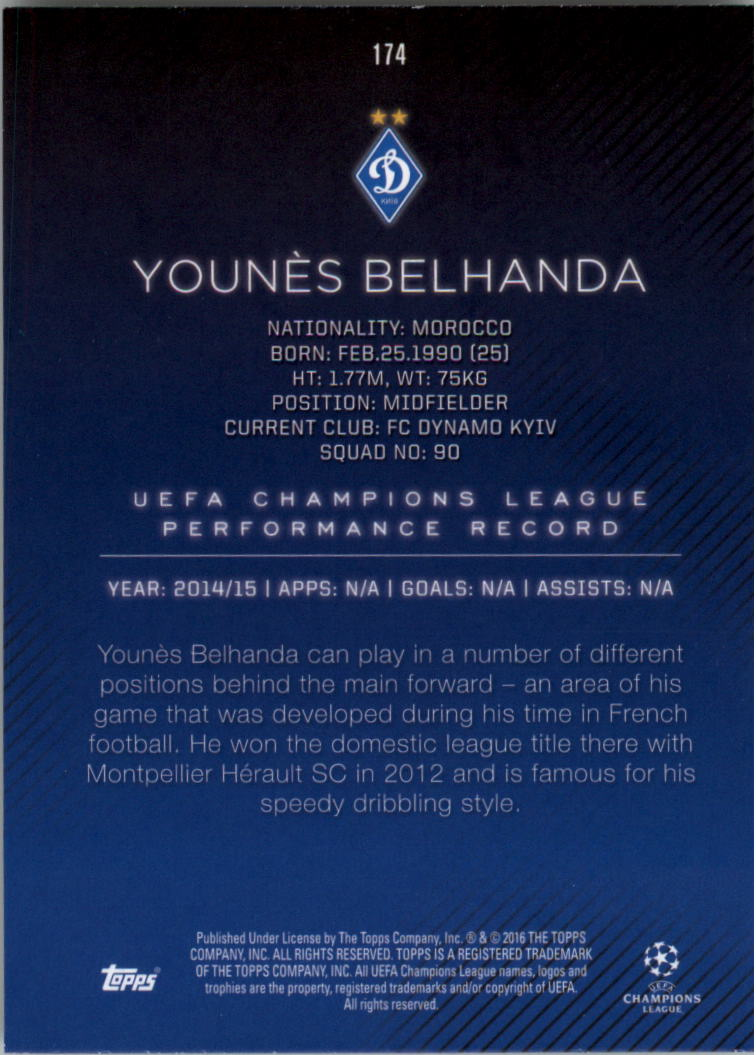 2015-16-Topps-UEFA-Champions-League-Showcase-Soccer-Your-Choice-GOTBASEBALLCARDS thumbnail 345