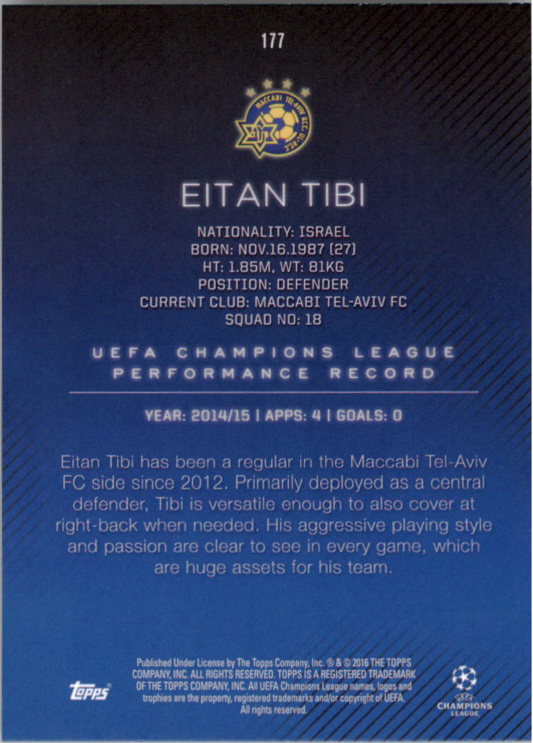2015-16-Topps-UEFA-Champions-League-Showcase-Soccer-Your-Choice-GOTBASEBALLCARDS thumbnail 351