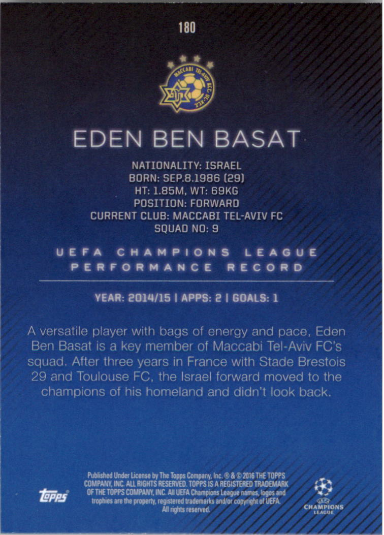 2015-16-Topps-UEFA-Champions-League-Showcase-Soccer-Your-Choice-GOTBASEBALLCARDS thumbnail 357