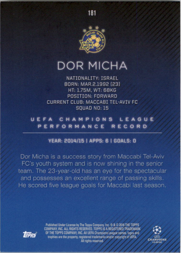 2015-16-Topps-UEFA-Champions-League-Showcase-Soccer-Your-Choice-GOTBASEBALLCARDS thumbnail 359
